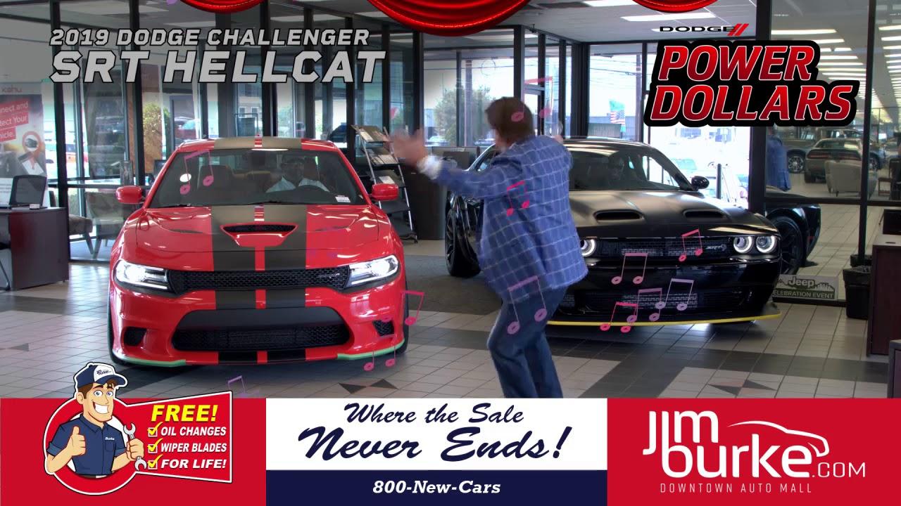 Jim Burke Dodge >> Jim Burke Dodge Hellcat Symphony W Zack Justice 100919 Youtube