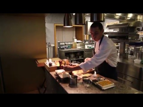 Royer Prepares Hokkaido Uni And Caviar At Odette In Singapore