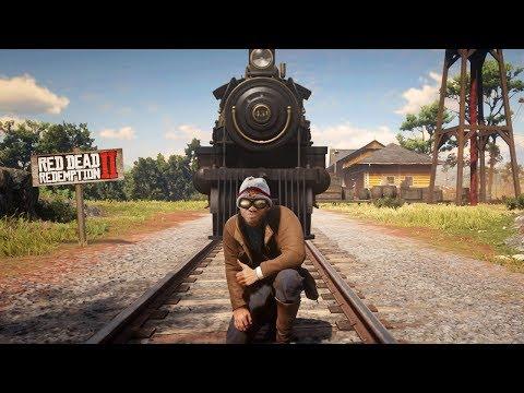 ФОКУС с ПОЕЗДОМ - Red Dead Redemption 2 - баги и приколы RDR 2 thumbnail