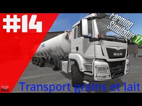 Les industrialo-bios / Transport de lait et de grains / Fs17 multi