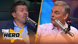 Panthers signing Bridgewater would make sense, bad O-line is an epidemic- Schlereth | NFL | THE HERD