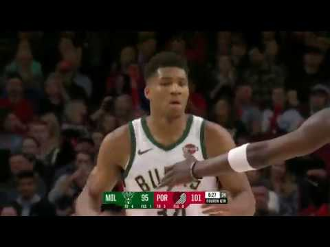 Milwaukee Bucks vs Portland Trailblazers | November 6, 2018
