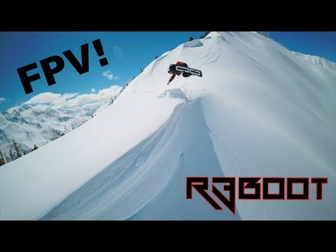 R3BOOT x FPV DRONE Segment - Shred Bots