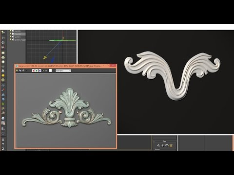 3ds Max - Tutorial - 3D CLASSICAL DECOR - Step 1