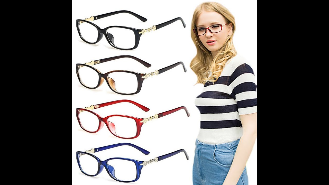 Cute Womens Eyeglass Frames For Round Faces : The Best Glasses For Your Face Shape - YouTube