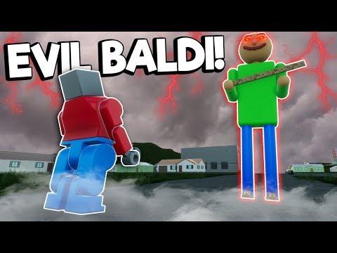 EVIL LEGO BALDI'S BASICS VS GRANNY SURVIVAL! - Brick Rigs Multiplayer Gameplay |