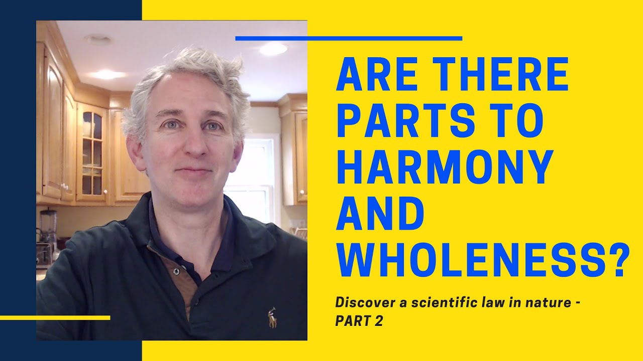 Are there parts to harmony - part two