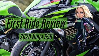 2020 Kawasaki Ninja 650 | Noob First Ride Review
