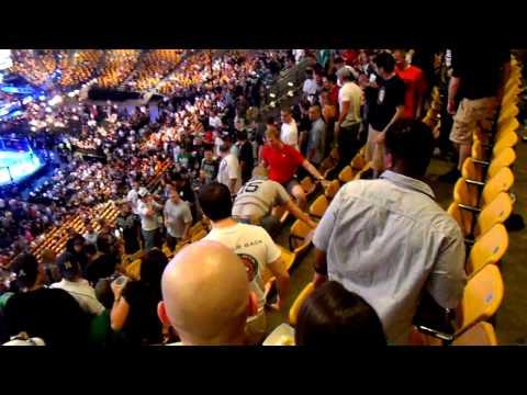 Drunk fight at UFC 118 in Boston