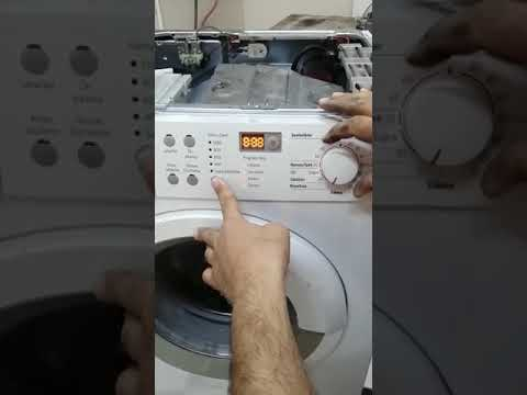 Bosch Çamaşır Makinesi Reset Atma (Detaylı Anlatım )(E43 ,E63 .VB)
