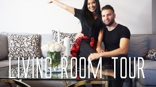 Living room TOUR | Evettexo