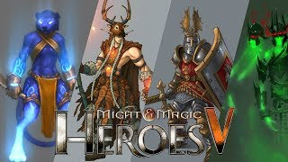 [HoMM5] All Units Showcase - Heroes Of Might And Magic 5 ToE