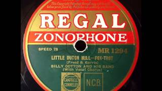 Little Dutch Mill, Billy Cotton, 1934