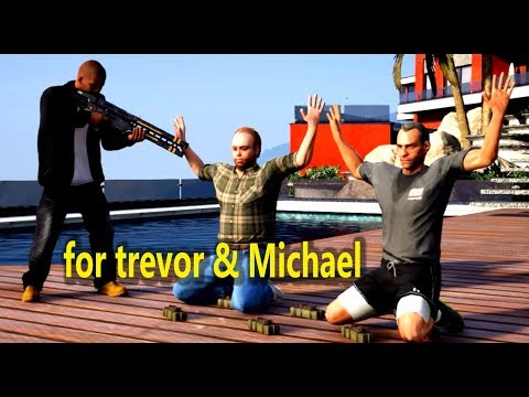 GTA V Michael And Trevor Killed By Lester And Devin Weston(Franklin takes revenge)