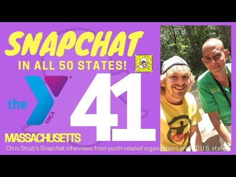 Snapchat in 50 States! Ep. 41: Camp Massapoag at YMCA of Lowell, Mass.