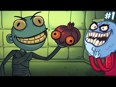 ТРОЛЛ ФЕЙС КВЕСТ ХОРРОР ААааАА!   Troll Face Quest Horror #1