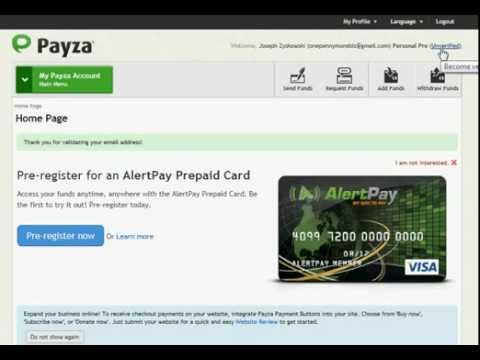 Payza How To Create A Payza Account.flv
