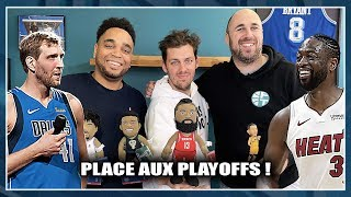 HOMMAGES À DIRK & WADE + PLACE AUX PLAYOFFS (avec Pierre Croce) NBA First Day Show 77