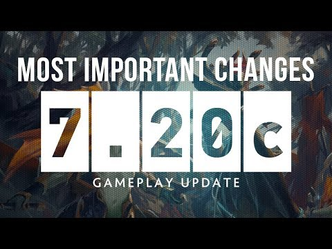 Dota 2 NEW 7.20c Patch GAMEPLAY UPDATE - MOST IMPORTANT CHANGES!
