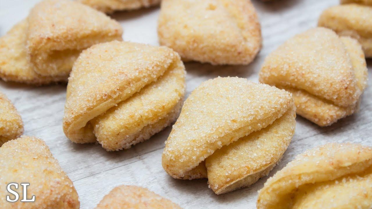 печенье треугольники из творога рецепт с фото