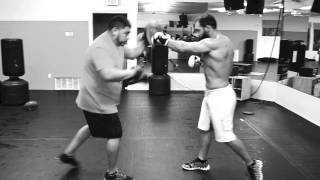 johny hendricks training camp for ufc title fight against gsp