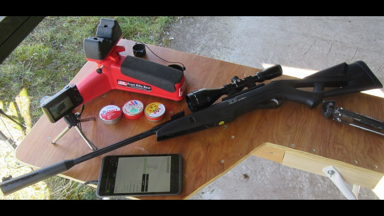 Chronographing the Gamo Whisper IGT fitted with a new gas ram from BSA 09  03 17