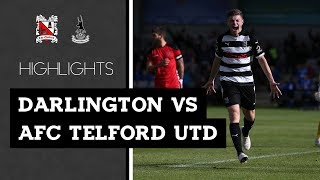 Darlington 3-0 AFC Telford United - Vanarama National League North - 2018/19