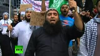 Австралийские мусульмане атаковали консульство США