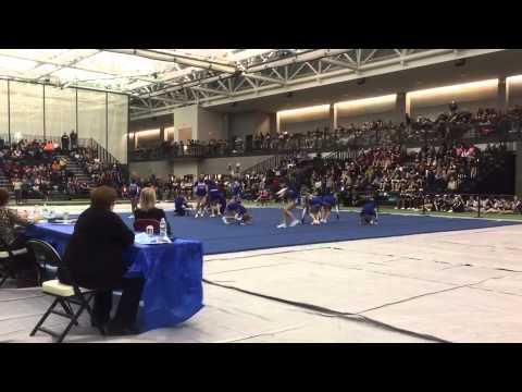 Coginchaug Regional High School Cheerleading State Open 2015