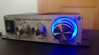 Lepy LP-2020A - Listen that BASS!!!