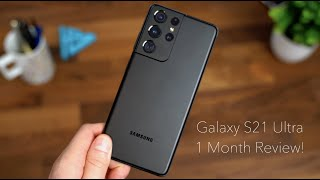 Samsung Galaxy S21 Ultra Review After 1 Month!
