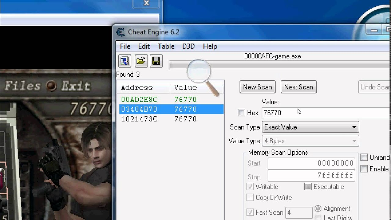 how to hack resident evil 4 for infinite money 100% working using cheat  engine 6 2