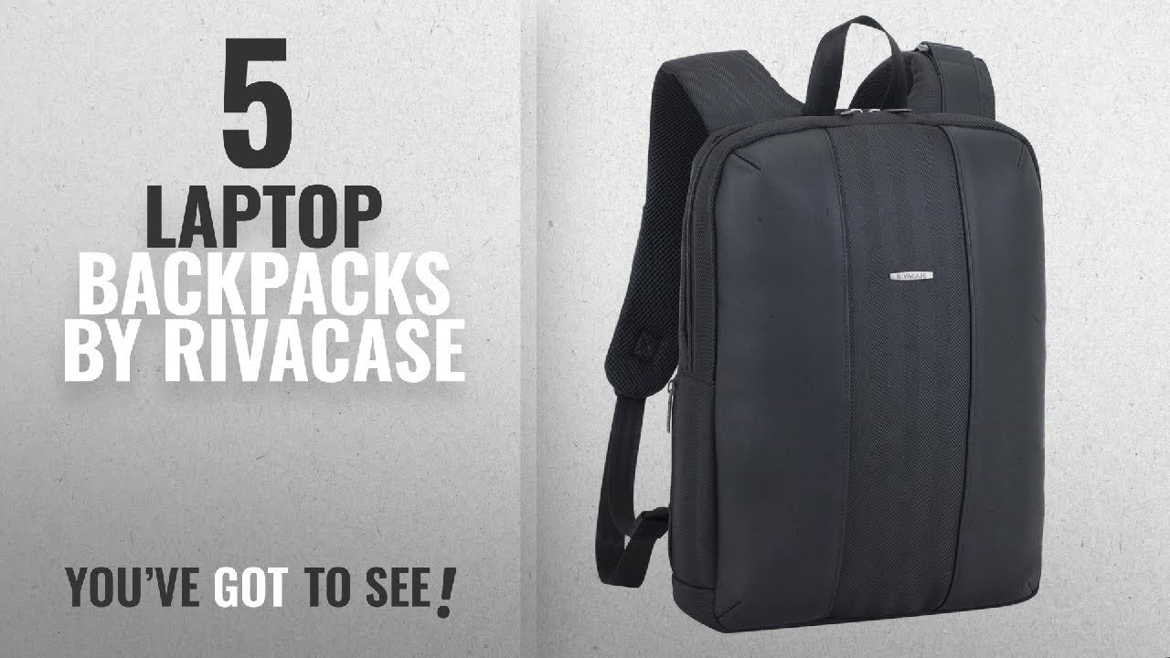 5711979915af Top 10 Rivacase Laptop Backpacks [2018]: Rivacase 8125 14 Inch Anti Theft  Backpack – Unisex