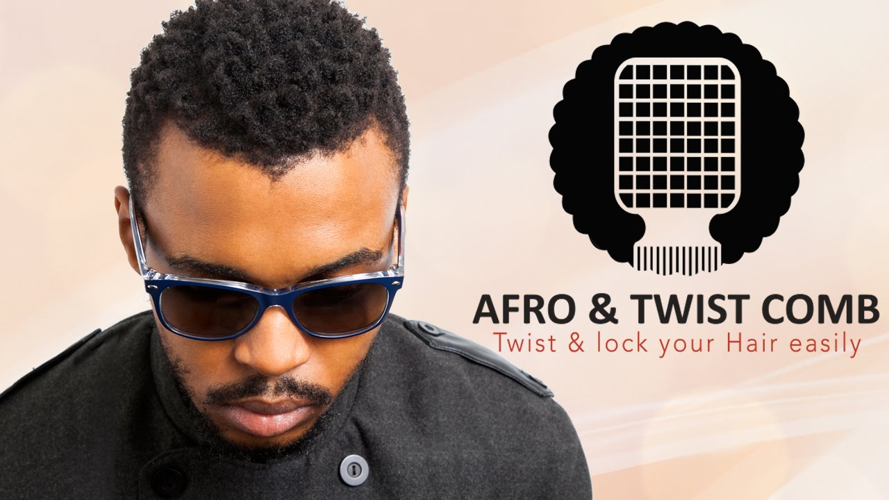 How To Use The Afro Amp Twist Comb Youtube