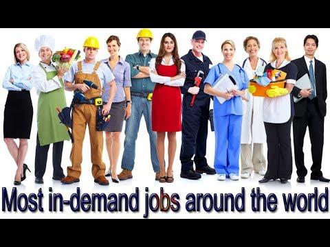Most In Demand Jobs Around the World