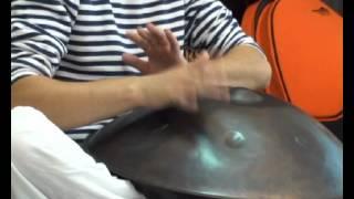 Невиданный восточный музыкальный инструмент! Ханг