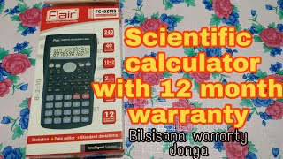 Scientific calculator useful for science students