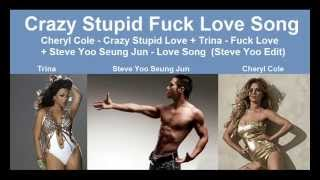 Cheryl Cole - Crazy Stupid Love + Trina - Fuck Love (Hot Remix)