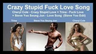 Cheryl Cole - Crazy Stupid Love + Trina - Fuck Love (Hot Remix)