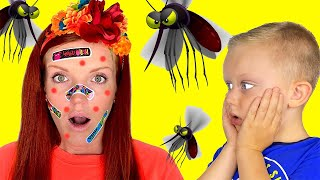 Martin and Monica vs mosquitoes in our house and more funny stories for kids