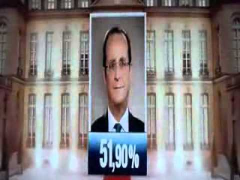 2012 French presidential election, Hollande, defeated former President Sarkozy