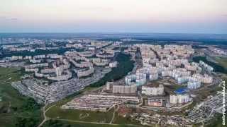 Белгород. Город с высоты птичьего полёта.