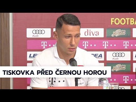 A tým | Předzápasová tisková konference před utkáním s Černou Horou