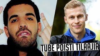 Youtube Poisti Tilaajia Tubettajilta! Drake Uhkaili Kanye Westia!