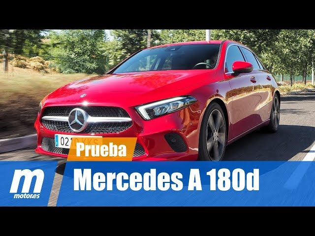 Mercedes-Benz Clase A 180d 2018 | Prueba / Testdrive / Review en Español HD