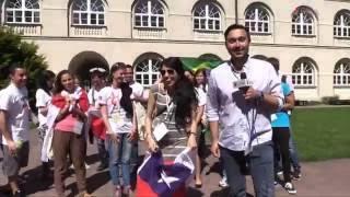ŚDM KUL: Chile-Brazil-Georgia-Spain-Portugal