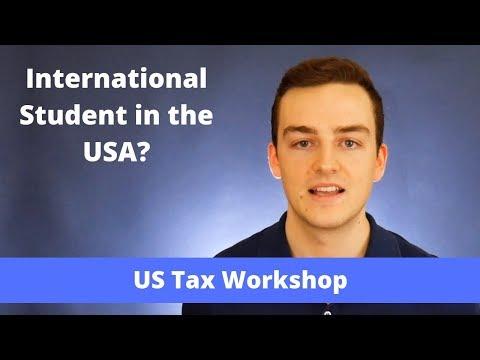 International Student US Tax Workshop