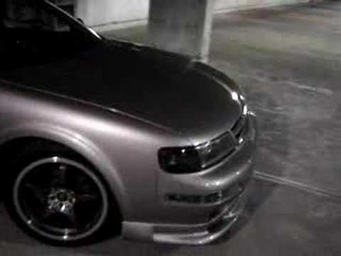 Custom Nissan Maxima >> 98 Nissan Maxima with tuned header back exhaust, custom projector headlamps, more - YouTube