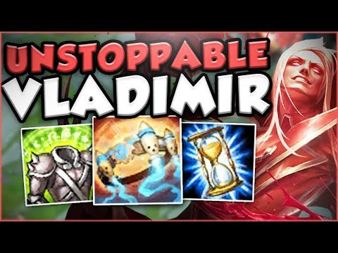 IS ANYONE ABLE TO STOP THIS PROTOBELT VLADIMIR? VLADIMIR TOP GAMEPLAY SEASON 7! - League of Legends