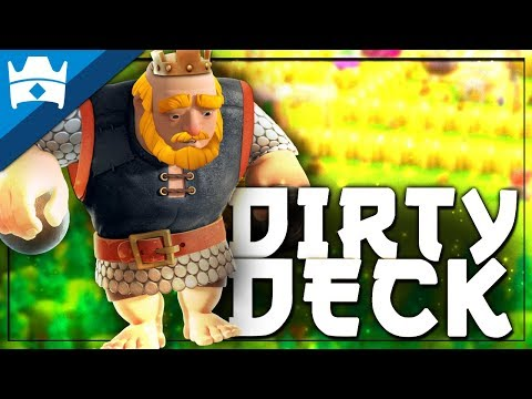 12-0 WITH ROYAL GIANT?! SCUMBAG DECK IN CLASH ROYALE!!    Best Royal Giant Deck